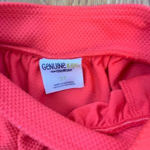 OshKosh B'gosh Bottoms - Toddler girl red pocket skirt